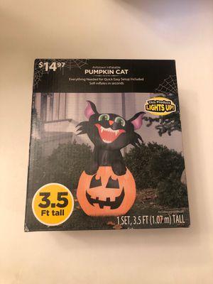 Inflatable pumpkin cat for Sale in Baldwin Park, CA