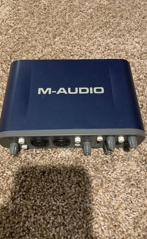 M-Audio Fast Track Pro Audio Interface for Sale in Broomfield, CO