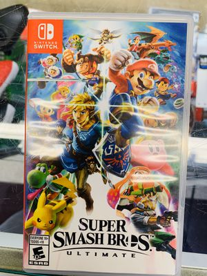 Super smash brothers ultimate for Sale in Austin, TX