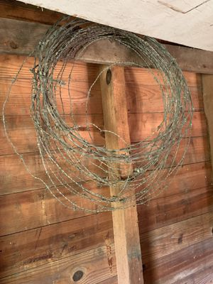 Barb wire for Sale in Clayton, NC