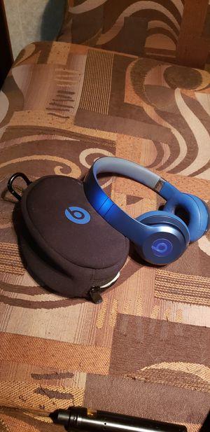 Beats solo head phones blue for Sale in San Antonio, TX