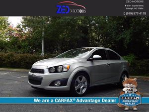 2013 Chevrolet Sonic for Sale in Raleigh, NC