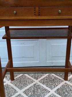 Mid century Teak Secretary desk Made by d-scan for Sale in Bremerton,  WA