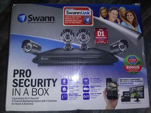 Swann Advanced Security Made Easy for Sale in Fresno, CA