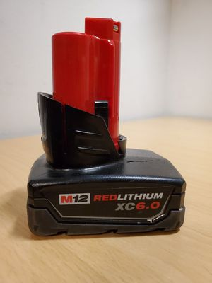 Milwaukee M12 Red Lithium XC 6.0Ah Battery Pack for Sale in Fontana, CA