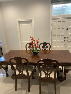 Antique mahogany table - Must go (great condition ) for Sale in La Jolla, CA
