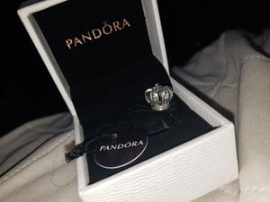Pandora crown charm for Sale in Springfield, VA