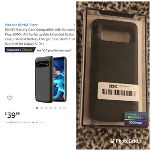 Runsy S10+ Battery Case New for Sale in Sanford, FL