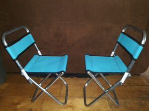 2 kids blue toddler chairs / tables for Sale in Hawthorne, CA