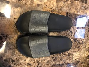 Gucci slides size 10 for Sale in Norfolk, VA