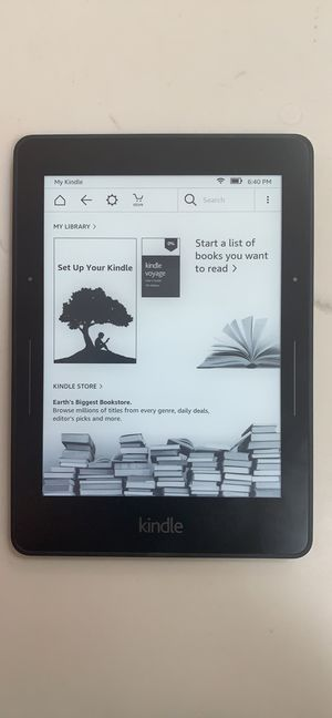 Kindle Voyage/Fire HD 8 Tablet (together or individually!) for Sale in Ramona, CA