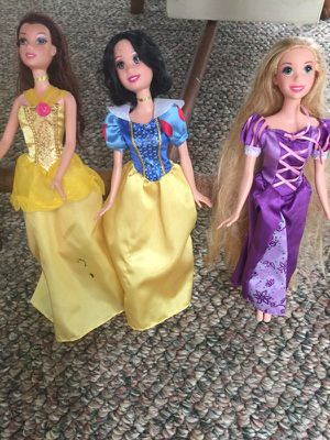 3 Disney Dolls for Sale in Narberth, PA