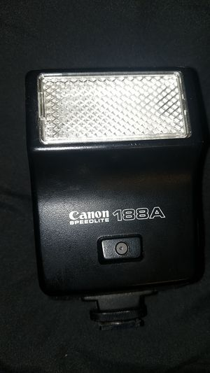 Canon Speedlite 188A for Sale in San Antonio, TX