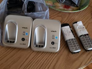 V-Tech cordless phones (2) good working condition for Sale in San Antonio, TX