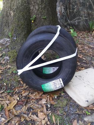 two trailer tires from tractor supply size 13 for Sale in Old Town, FL