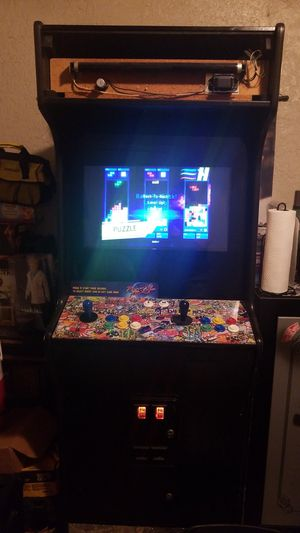 Taito Video arcade game. Arcade huge size. 500 games including ms pac man, street fighter, galaga, centipede, n much much more. for Sale in Fresno, CA
