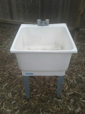 Plastic Industrial sink for Sale in Humble, TX