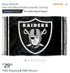 New Raider flag for Sale in Oxnard, CA