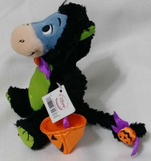 NEW Disney Store excl Pooh pal EEYORE Halloween Cat Costume Plush Bean Bag Doll for Sale in Homestead, FL
