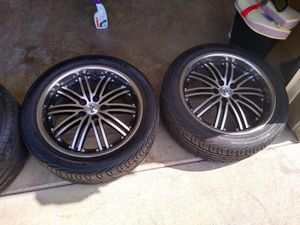 Wheels and tire for Sale in Fort Worth, TX