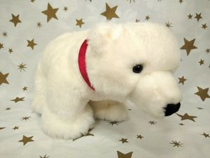 "CHECK MY OFFERS**EVERYTHING MUST GO**2007 Princess Soft Toys Marshmallow White Plush Polar Bear Stuffed Animal Toy 13"" ***EXCELLENT CONDITION-CLEAN*** for Sale in Parkland, WA"