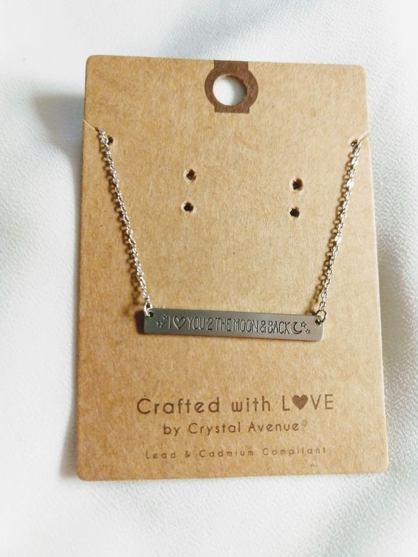 "New ""I Love You 2 The Moon & Back"" Necklace"