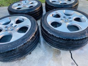 """Volkswagen 17"""" wheels with 225/45/17 tires for Sale in Los Angeles, CA"""