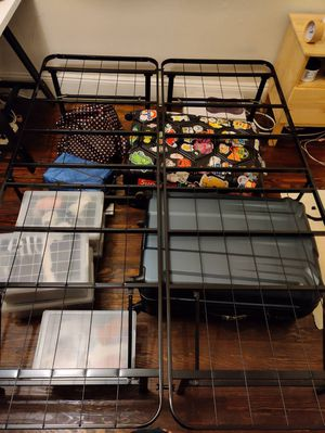 "Full size bed frame with 14"" H storage space below for Sale in Queens, NY"