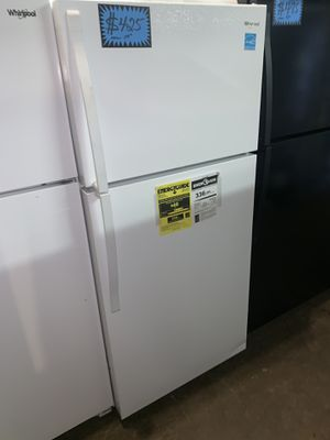 Brand new WHIRLPOOL 28in. Top freezer refrigerator with 1yr. Manufacturer warranty for Sale in Baltimore, MD