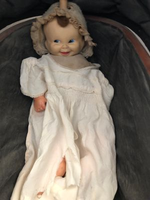 Antique topsyb turbu doll rubber face great condition for Sale in Langhorne, PA