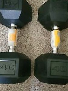 Hex Dumbbells 40 Lb for Sale in Los Angeles,  CA