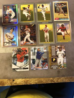 Assorted baseball card lot for Sale in Fresno, CA