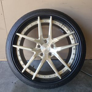 BC Forged HT01S 5X120 72.56 Rims for Sale in Sacramento, CA