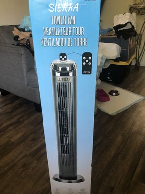 42 inches tall tower fan for sale for Sale in Tustin, CA
