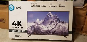50 inch LED 4K TV - Sealed- Brand New - Trade Only for Sale in Menifee, CA
