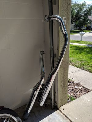Motorcycle exhaust pipes for Sale in Ruskin, FL