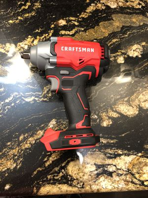 Craftsman 1/2 in brushless impact wrench for Sale in Oklahoma City, OK