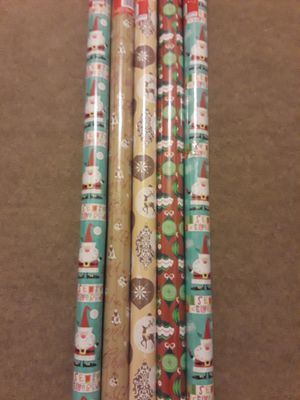 Christmas decoration giftwrap. for Sale in Riverside, CA