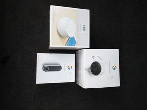 Google nest kit home security for Sale in Portland, OR