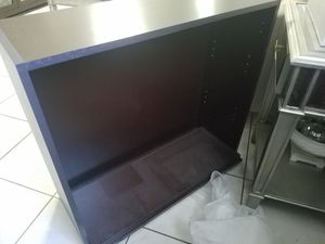 Cabinet Espresso Color with Shelves/Doors (new) for Sale in Hialeah, FL