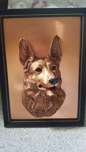 Copper made heavy piece dog head profile for Sale in Harrisonburg, VA