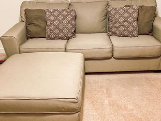 Couch + Ottoman for Sale in Bellevue,  WA