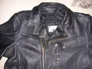 Motorcycle biker leather jacket Pistol Pete Edition for Sale in Lawrenceville, GA