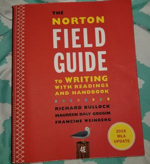 The Norton Field Guide to WRITING for Sale in San Antonio, TX