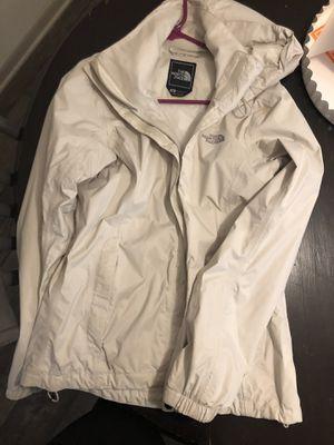 Cream Northface Raincoat for Sale in Atlanta, GA