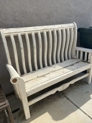 Wooden bench for Sale in Riverside, CA