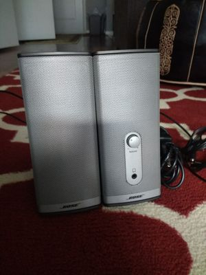 Bose Companion 2 Series II Multimedia Speakers - for PC for Sale in Washington, DC