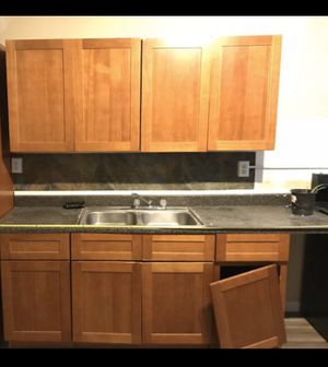 Kitchen set -2 -36inch wide 30in tall wall 2-18 base 1-36in sink base cabinets for Sale in Philadelphia, PA