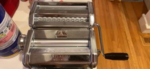 Marcato Atlas 150 Pasta Machine, Made in Italy, Includes Cutter, Hand Crank, and Instructions, 150 mm, Stainless Steel {link removed} for Sale in WA, US