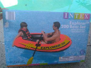 Intex explorer inflatable boat for Sale in Baldwin Park, CA